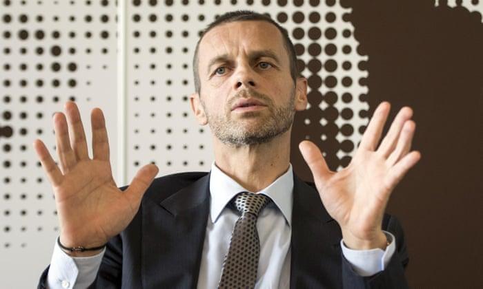 Uefa elnöke nyitva tart a Európa Bajnokok Ligája döntőjén